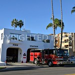Pier View Way and North Nevada Street, Oceanside, CA - 1934 Fire and Police Station, Irving Gill, Architect